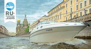 Аренда яхты, катера или теплохода в СПБ.
