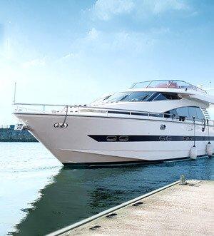 Аренда яхты в Спб «Elegance 65»