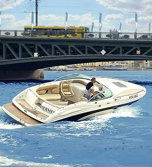 Аренда катера в Спб «Hermes»