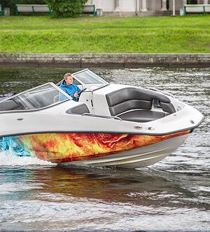 Аренда катера в Спб «Challenger 230se»