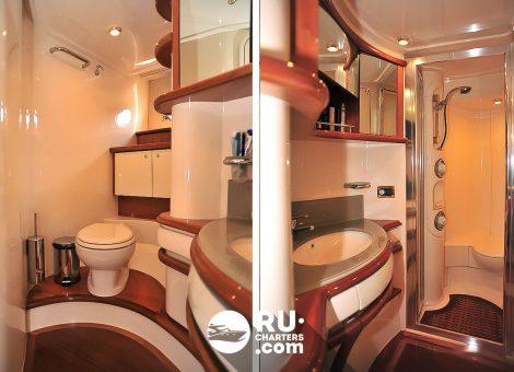 Аренда яхты в Спб «Azimut 55»