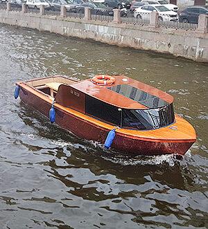Аренда катера в Спб «Мадера»