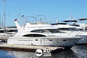 Аренда яхты в СПБ «carver 41 Sport Sedan»