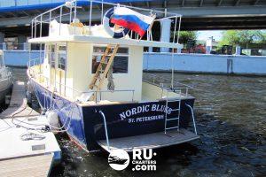 «nordic Blues» Аренда яхты в СПб