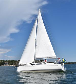 «luna» Аренда парусной яхты в СПб