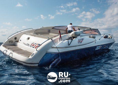 «sunseeker» Аренда катера в СПб