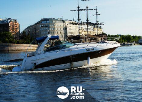 «chaparral 290» Аренда катера в СПб