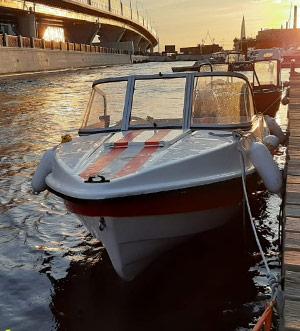 Аренда катера без капитана «Афалина»