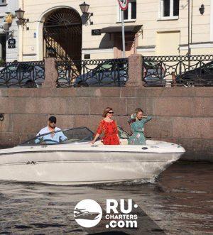 «ГЕФЕСТ» Sea Ray 275 Аренда катера в СПб