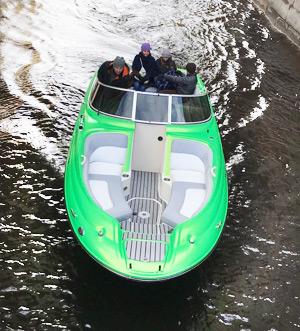«sea Ray 240» Аренда катера в СПб