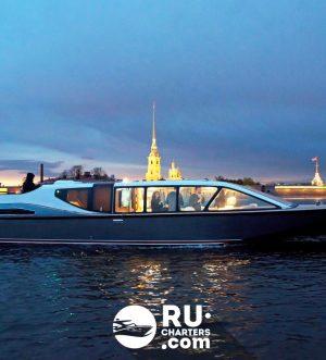Аренда катера Чудолодка в Санкт Петербурге