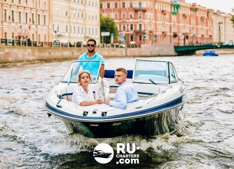 Аренда катера в СПб «smart»
