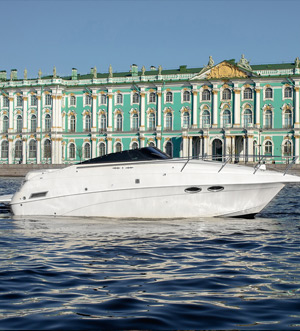 Аренда катера Каталина в Санкт Петербурге