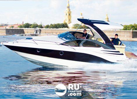 Аренда катера Velvette 29 в Санкт Петербурге