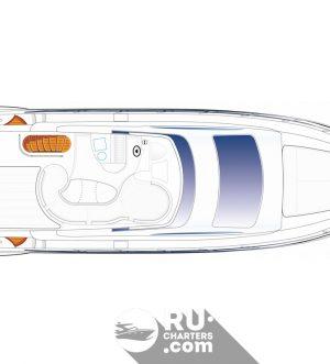 Аренда яхты Azimut 50 в Санкт Петербурге