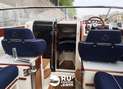 «aquador 23 Dc» Аренда катера в СПб
