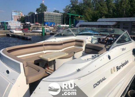 Аренда катера Doral 300 в Санкт Петербурге