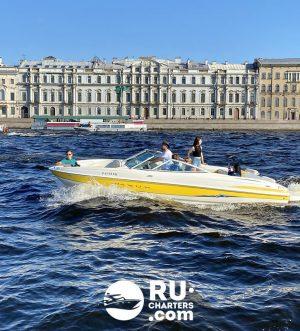 «maxum 220» Аренда катера в СПб